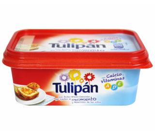 Margarina Tulipán sin sal 250 g.