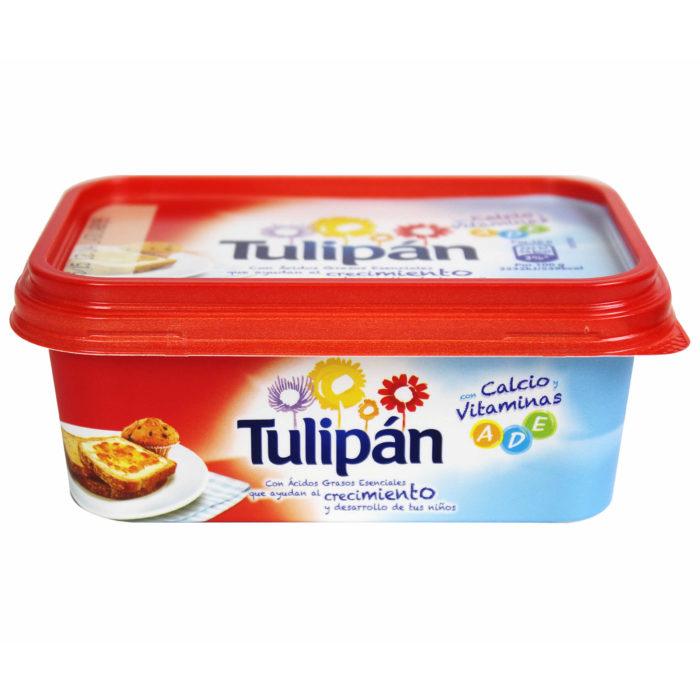 Margarina Tulipán sin sal 250 g. - Alcoop