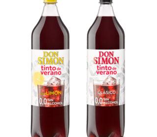 Tinto verano Don Simón sin alcohol 1.5 L. (clásico o limón)