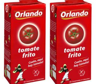 Tomate frito Orlando brik 780 g.