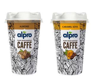 Alpro café 206 g. (almendra o soja con caramelo)