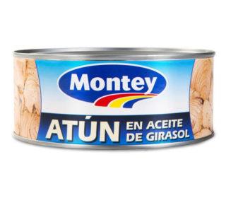 Atún aceite Montey 650 g.