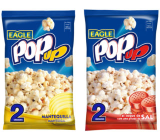 Pop Up pack 2×100 g. (sal o mantequilla)