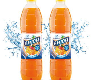 Refresco enjoy 1.5 L. (fresa, limón, manzana, naranja o tropical)