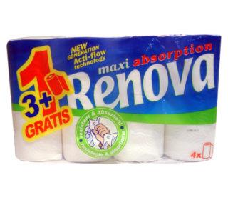 Rollo cocina Renova pack 3+1 rollo