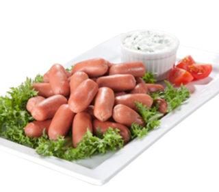 Salchichas cocidas mini pqte. 400 g.