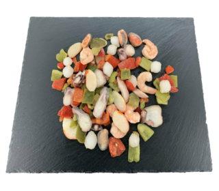 Salpicón de marisco bandeja 360 g.