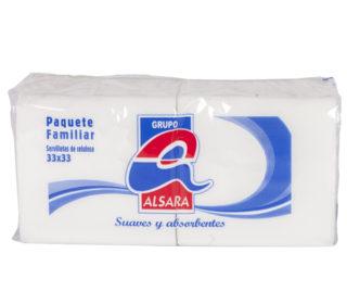 Servilletas Alsara blanca paquete doble