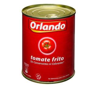 Tomate frito Orlando lata 800 g.
