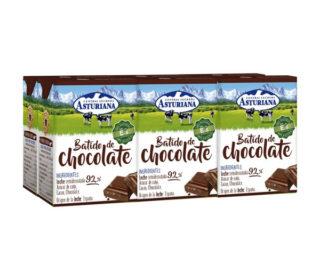 Batido Asturiana cacao pack 6×200 ml.