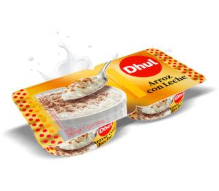 Arroz con leche Dhul pack-2×130 g.