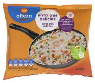Arroz 3 delicias Alteza 400 g.