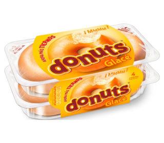Donuts glacé rr pack-4 un.