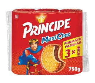 Galletas Príncipe Maxi choco pack-3×80 g.