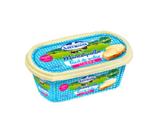 Mantequilla ligera Asturiana 250 g.