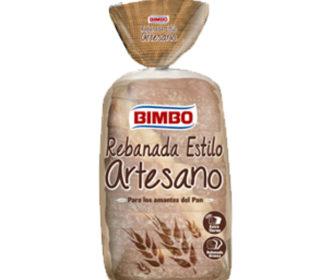 Rebanada artesana Bimbo 550 g.