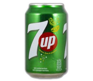 Refresco Seven Up lata 33 cl.