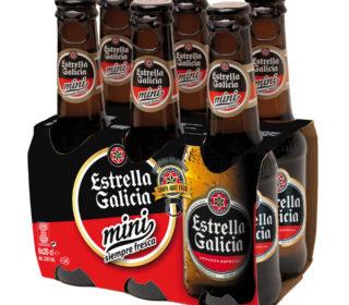 Cerveza Estrella Galicia pack-6×20 cl.