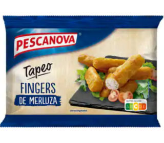 Fingers merluza Pescanova 200 g.