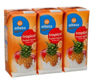 Fruta + Leche Alteza tropical pack-3x330ml.