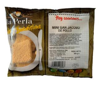 Mini San Jacobos pollo La Perla 300 g.