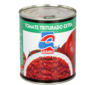 Tomate triturado Alsara 800 g.