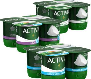 Yogur Activia pack-4×120 gr.
