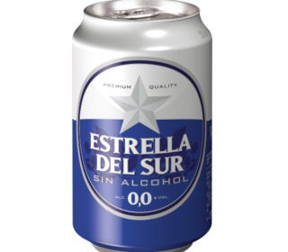 Cerveza sin alcohol Estrella del Sur lata 33cl
