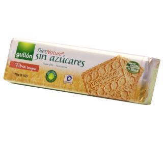 Galletas Gullón diet nature sin azúcar fibra 170 g.