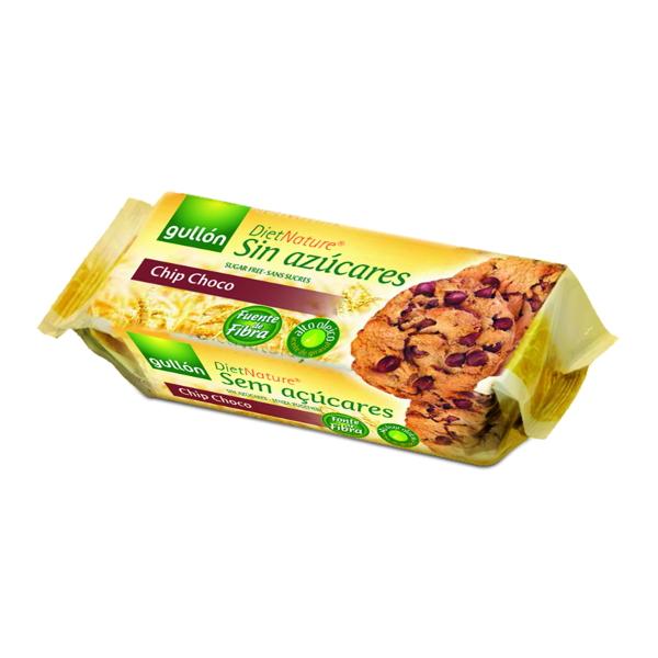 Galletas Gullón diet nature choco 125 g.