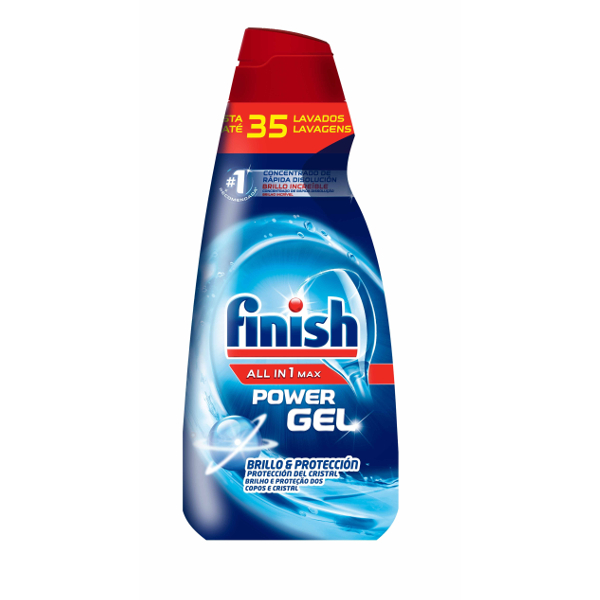 Gel lavavajillas Finish 35 dosis