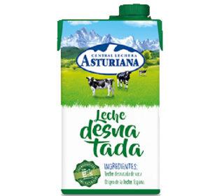 Leche desnatada Asturiana 500 ml.