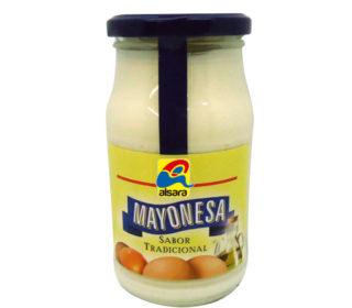 Mayonesa casera Alsara 450 ml.