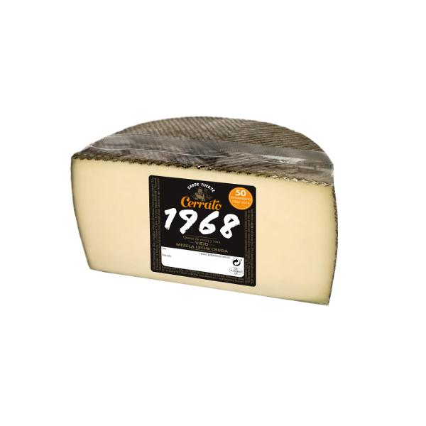 Queso viejo Cerrato oveja/vaca, 250 g.