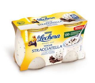 Yogur La Lechera straciatella pack-2×120 g.