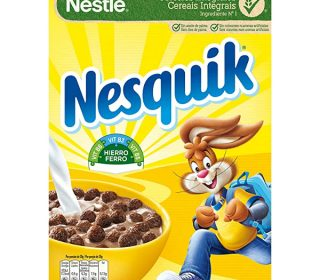 Cereales Nesquik Nestlé 375 g.