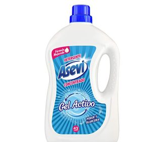 Gel detergente Asevi 42 dosis
