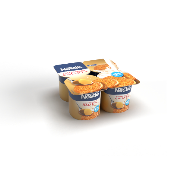 Gelificado galleta Nestlé pack-4×125 g.
