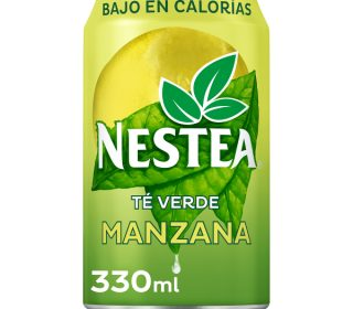 Nestea te/manzana verde lata 33 cl.
