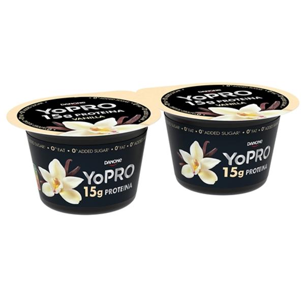 Yopro vainilla pack-2×160 g.