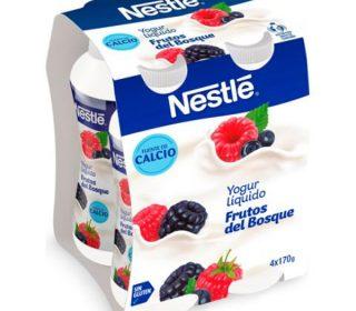 Yogur líquido Nestlé pack-4×170 g.