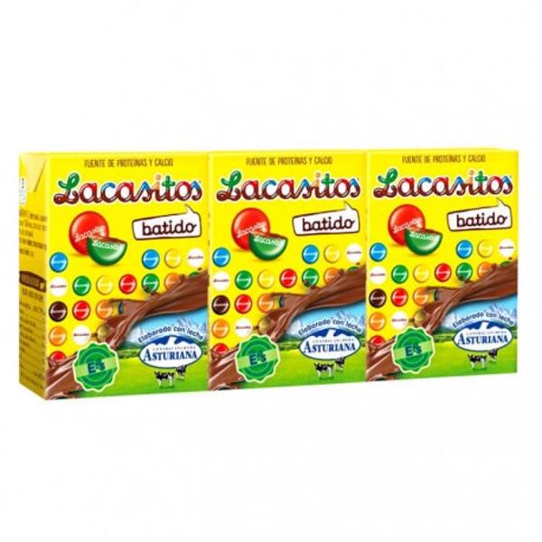Batidos Conguitos Asturiana pack-3×200 ml.