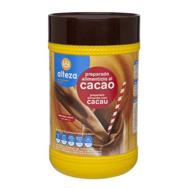 Cacao soluble Alteza 500 g.