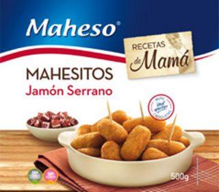 Mini croquetas jamón Mahesitos 400 g.