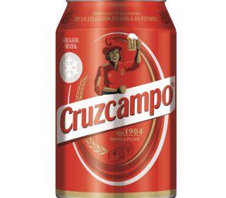 Cerveza Cruzcampo lata 33 cl.