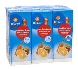 Fruta + Leche Alteza pack-6×200 ml.