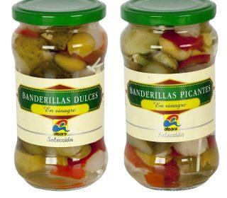 Banderillas Alsara, 150 g.