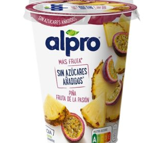Alpro Mfnas piña y fruta de la pasión 500 g.
