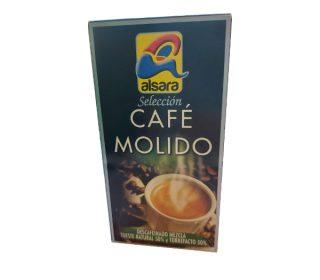 Café descafeinado mezcla Alsara 250 g.