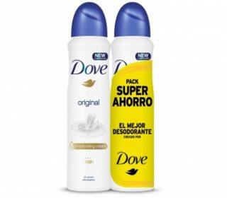 Desodorante spray Dove original pack-2x200ml.